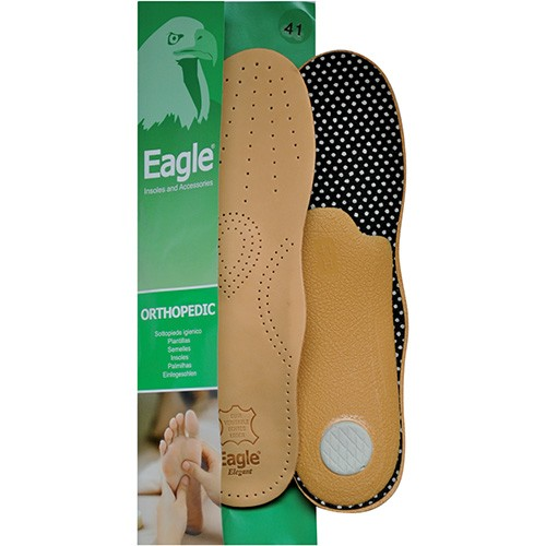 Leather and Felt anatomic Insole